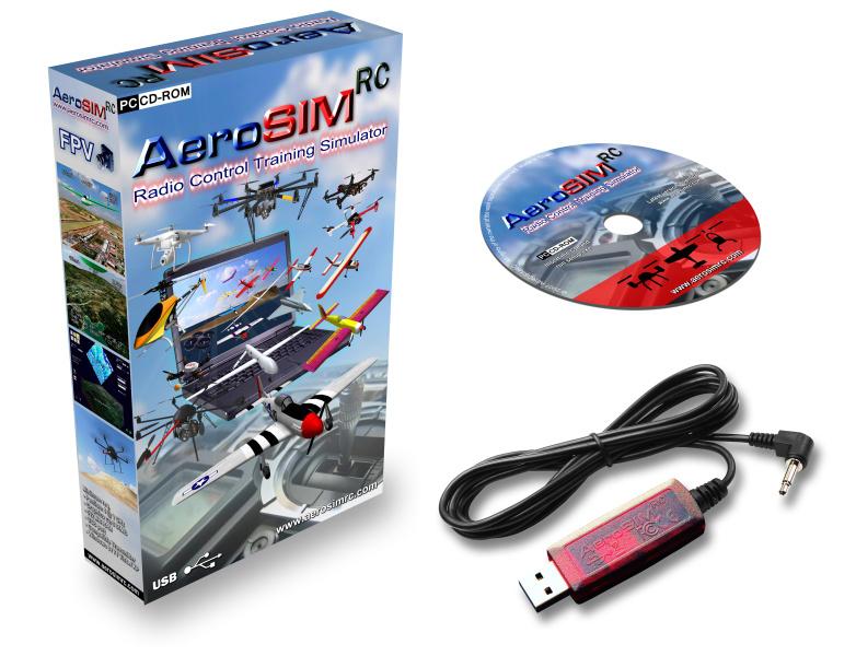 Interfejs USB symulatora AeroSIM RC