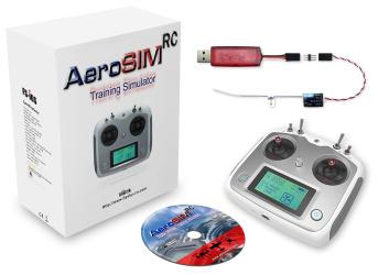 Symulator AeroSIM RC z aparaturą zdalnego sterowania